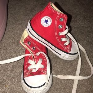 Toddler Red Chuck Taylor's